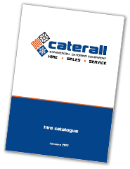 caterall equipment hire catalogue